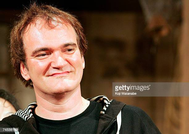 S director Quentin Tarantino promotes the film Sukiyaki Western Django at the Imperial Hotel June 11 2007 in Tokyo Japan The film will open in...