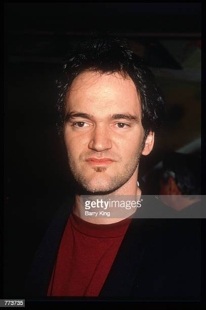 Director Quentin Tarantino stands at the Los Angeles Film Critics Awards January 17 1995 in Los Angeles CA Celebrities and critics gathered at the...