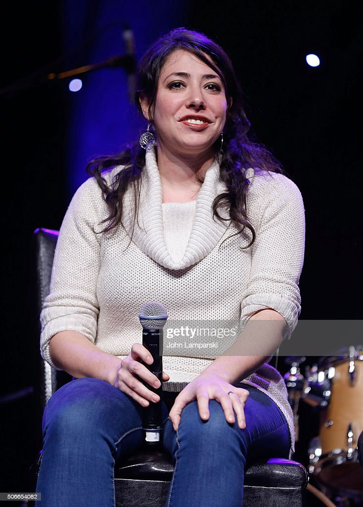 Director Rachel Chavkin attends BroadwayCon 2016 at the Hilton Midtown on January 24, 2016 in New York City.
