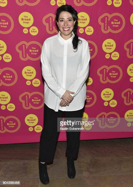 Director Rachel Chavkin attends 'Small Mouth Sounds' opening night at The Eli and Edythe Broad Stage on January 12 2018 in Santa Monica California