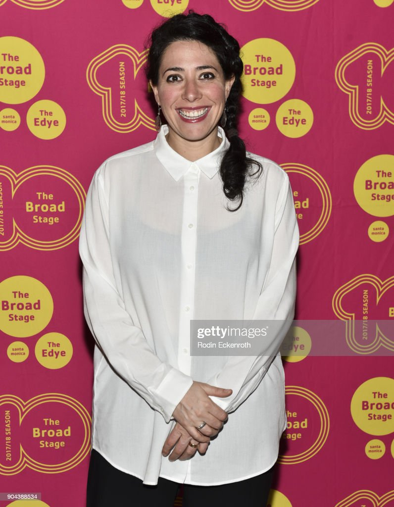 Director Rachel Chavkin attends 'Small Mouth Sounds' opening night at The Eli and Edythe Broad Stage on January 12, 2018 in Santa Monica, California.