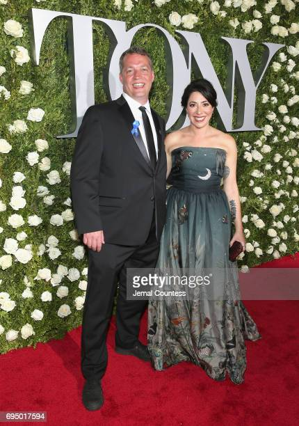 Director Rachel Chavkin attends the 2017 Tony Awards at Radio City Music Hall on June 11 2017 in New York City