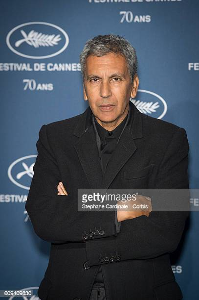 Director Rachid Bouchareb attends the 'Cannes Film Festival 70th Anniversary Party' at Palais Des Beaux Arts on September 20 2016 in Paris France