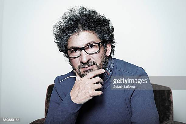 Director Radu Mihaileanu is photographed for Self Assignment on December 13 2016 in Les Arcs France