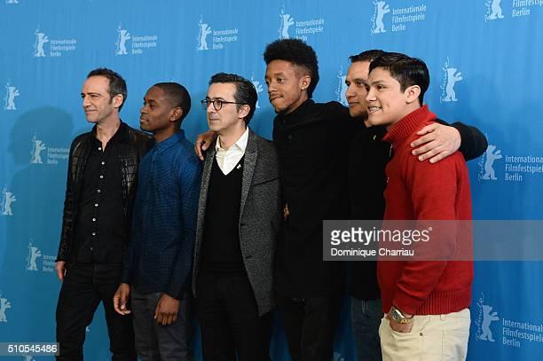 Director Rafi Pitts actor Aml Ameen producer Thanassis Karathanos actor Darrell BrittGibson military advisor Daniel Torres and actor Johnny Ortiz...