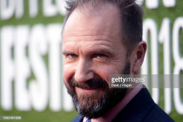 Director Ralph Fiennes attends the UK Premiere of The White Crow Create Gala at the 62nd BFI London Film Festival on October 18 2018 in London England