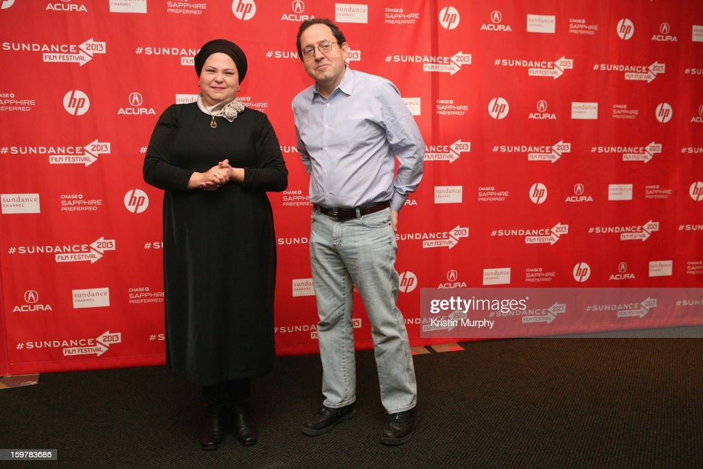 Director Rama Burshtein and Michael Barker attend the 'Fill The Void' premiere at Temple Theater during the 2013 Sundance Film Festival on January 20, 2013 in Park City, Utah.