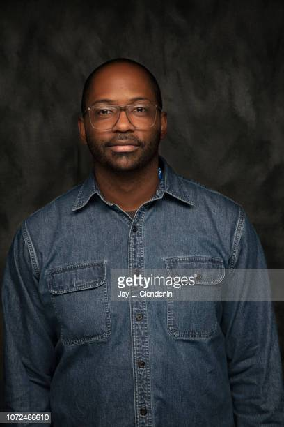 Director RaMell Ross from Hale County This Morning This Evening is photographed for Los Angeles Times on January 22 2018 in the LA Times Studio at...