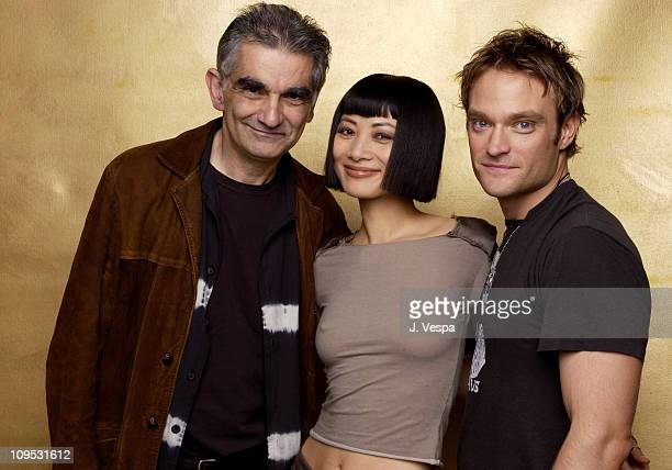 Director Ramin Niami Bai Ling and Chad Allen during 2003 Tribeca Film Festival Paris Portraits at WireImage Portrait Studio Michael Perez Pop Art...