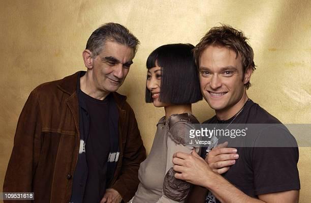 Director Ramin Niami Bai Ling and Chad Allen during 2003 Tribeca Film Festival Paris Portraits at WireImage Portrait Studio Michael Perez Pop Art...