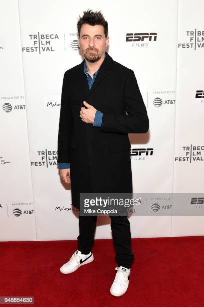 Director Ramon Salazar Hoogans attends a screening of Sunday's Illness during the 2018 Tribeca Film Festival at Cinepolis Chelsea on April 19 2018 in...
