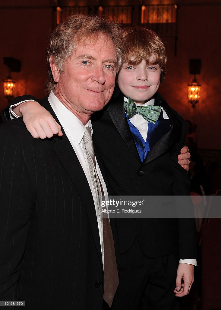 Director Randall Wallace (L) and actor Jacob Rhodes attend the premiere of Walt Disney Pictures' 'Secretariat' after party at the on September 30, 2010 in Hollywood, California.