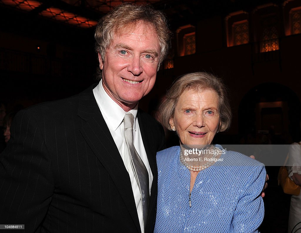Director Randall Wallace (L) and Penny Chenery attend the premiere of Walt Disney Pictures' 'Secretariat' after party at the on September 30, 2010 in Hollywood, California.