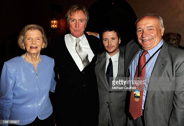 Director Randall Wallace Penny Chenery actor Kevin Connelly and writer William Nack attend the 'Secretariat' premiere after party on September 30...
