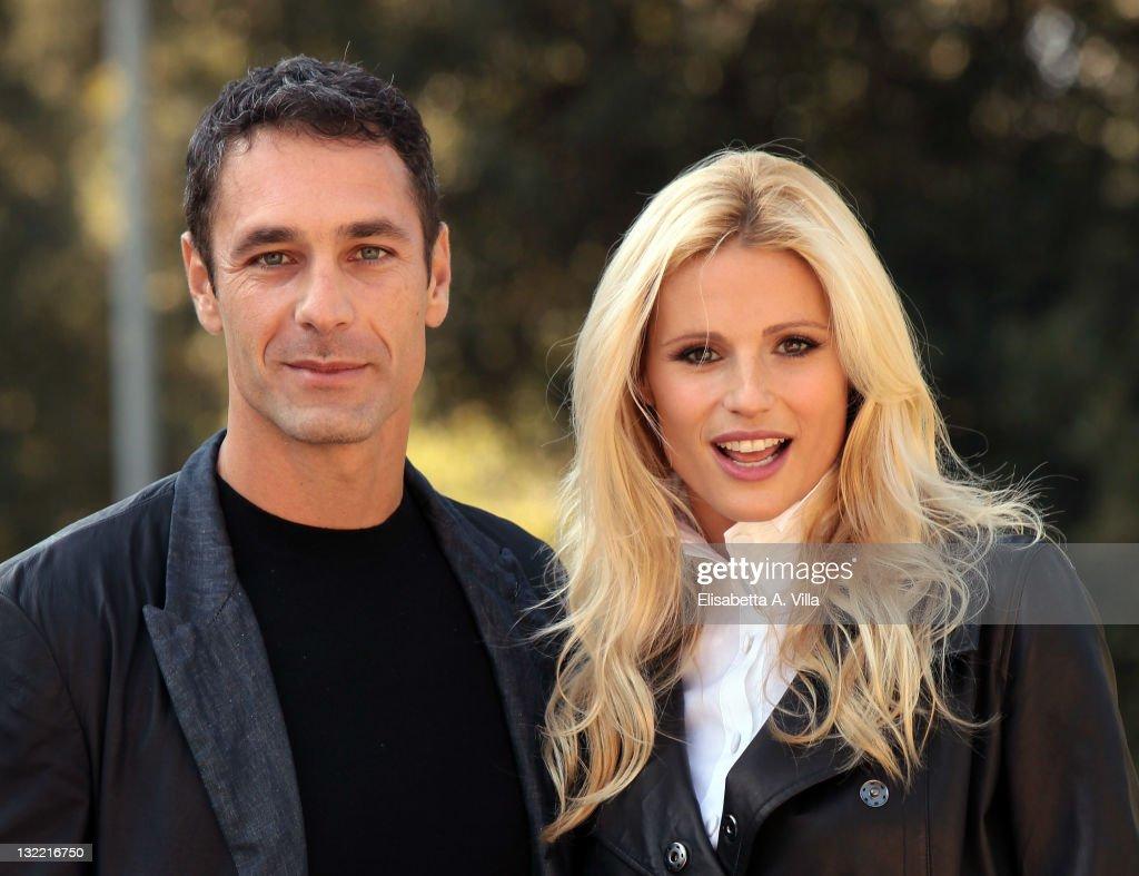 Amore Nero Raoul Bova director raoul bova and actress michelle hunziker attend