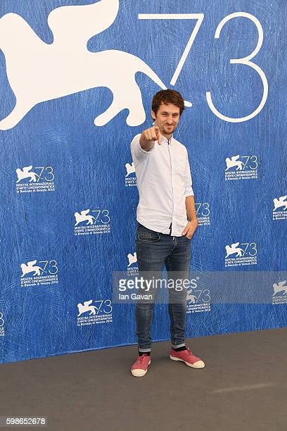 Director Raul Arevalo attends a photocall for 'The Fury Of A Patient Man ' during the 73rd Venice Film Festival at Palazzo del Casino on September 2...