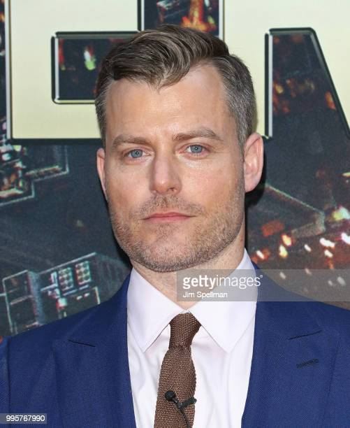 Director Rawson Marshall Thurber attends the 'Skyscraper' New York premiere at AMC Loews Lincoln Square on July 10 2018 in New York City