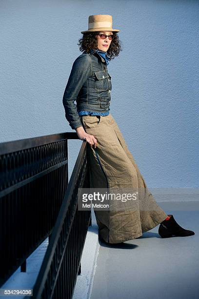 Director Rebecca Miller is photographed for Los Angeles Times on April 25 2016 in Los Angeles California PUBLISHED IMAGE CREDIT MUST READ Mel...