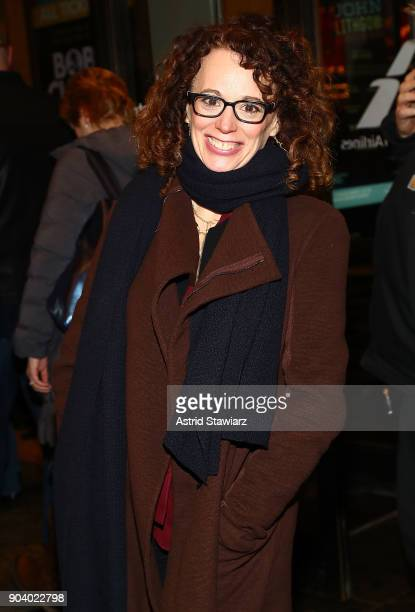 Director Rebecca Taichman attends 'John Lithgow Stories By Heart' opening night at American Airlines Theatre on January 11 2018 in New York City
