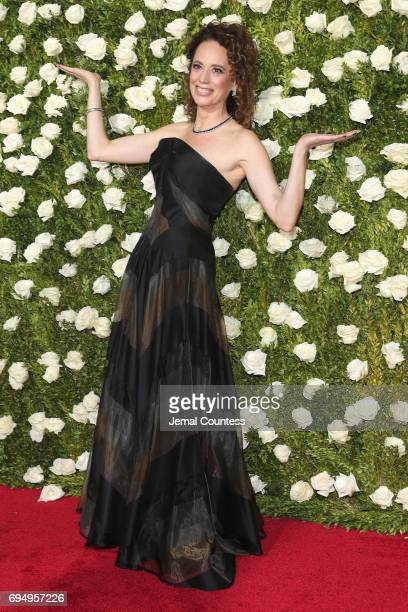 Director Rebecca Taichman attends the 2017 Tony Awards at Radio City Music Hall on June 11 2017 in New York City