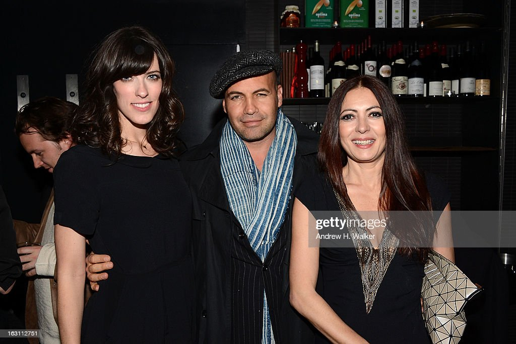 Director Rebecca Thomas, actor Billy Zane and fashion designer Catherine Malandrino attend the after party for The Cinema Society & Make Up For Ever screening of 'Electrick Children' at Hotel Americano on March 4, 2013 in New York City.