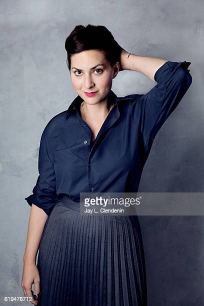 Director Rebecca Zlotowski from the film Planetarium poses for a portraits at the Toronto International Film Festival for Los Angeles Times on...