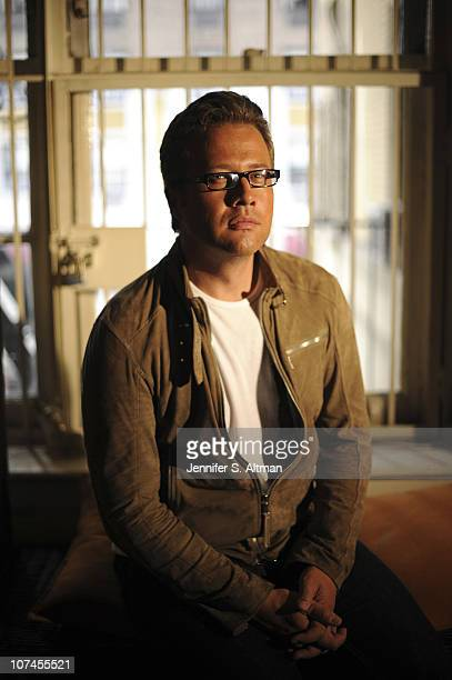 Director Reed Cowan is photographed for the Los Angeles Times on June 21 2010 in New York NY