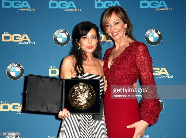 Director Reed Morano winner of the award for Outstanding Directorial Achievement in Dramatic Series for 'The Handmaid's Tale' episode 'Offred' and...
