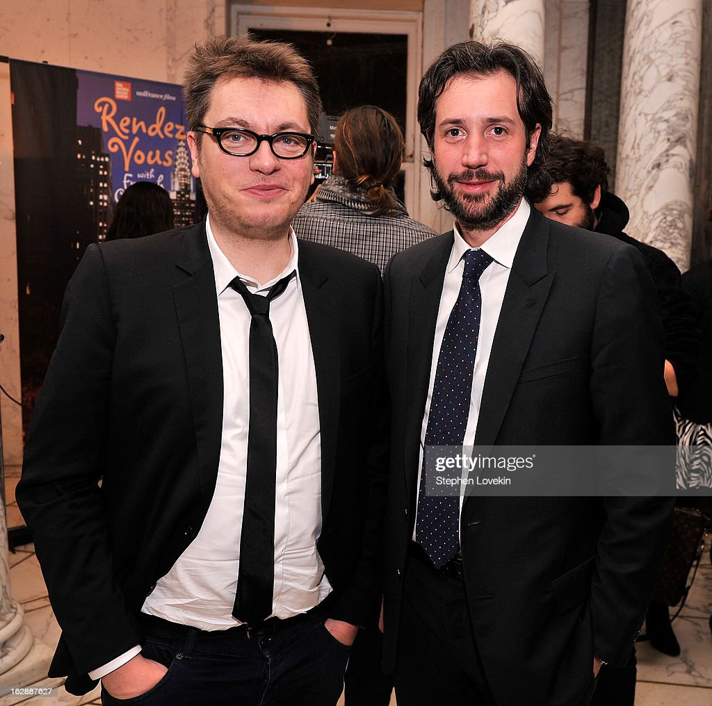 Director Regis Roinsard and Cultural Consulate to The French Embassy Antonin Baudry attend the after party for the U.S. premiere of POPULAIRE, hosted by The Film Society of Lincoln Center, UniFrance Films, and The Weinstein Company at The French Embassy on February 28, 2013 in New York City.