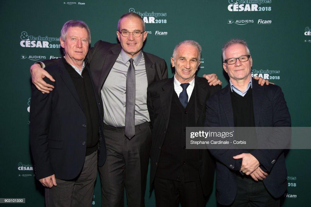 'Cesar Et Techniques 2018' Award Ceremony At Pavillon Cambon In Paris