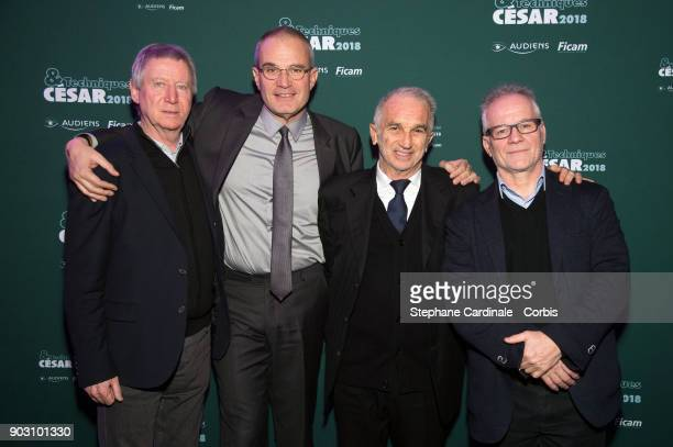 Director Regis Wargnier Journalist Laurent Weil President of Academy des Cesars Alain Terzian and General Delegate of the Cannes Film Festival...