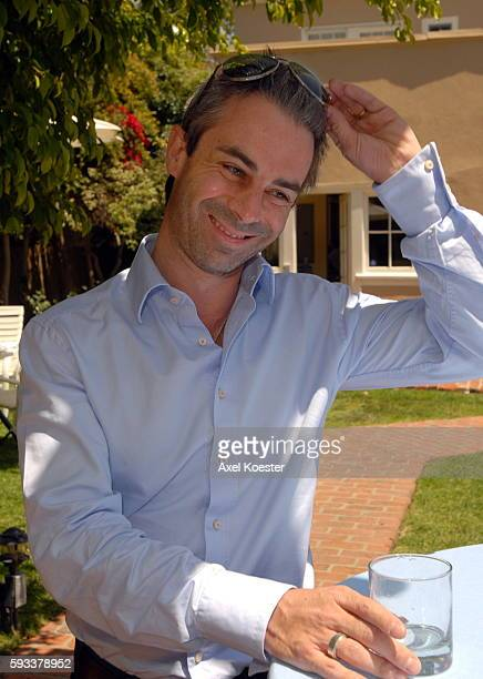 Director Renan de la Roche attends a luncheon at the French Consul General's Residence during the 11th Annual City of Lights, City of Angels French...