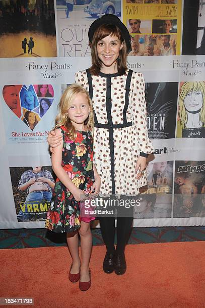 Director Renee Felice Smith and Avery Ralff attends the 18th Annual Genart Film Festival Closing Night She Loves Me Not Swim Little Fish Swim Young...