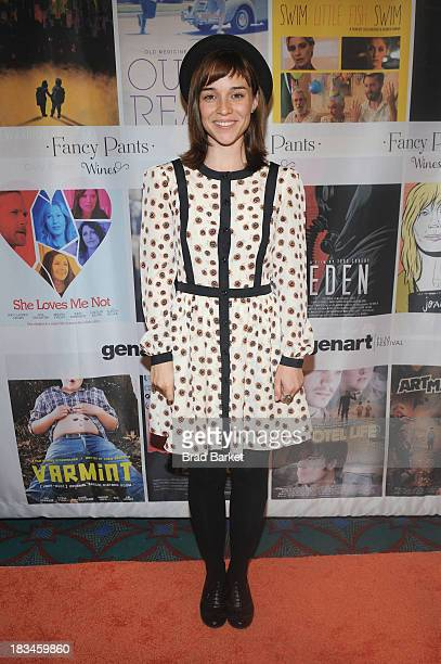 Director Renee Felice Smith attends the 18th Annual Genart Film Festival Closing Night She Loves Me Not Swim Little Fish Swim Young Zero Hour The...