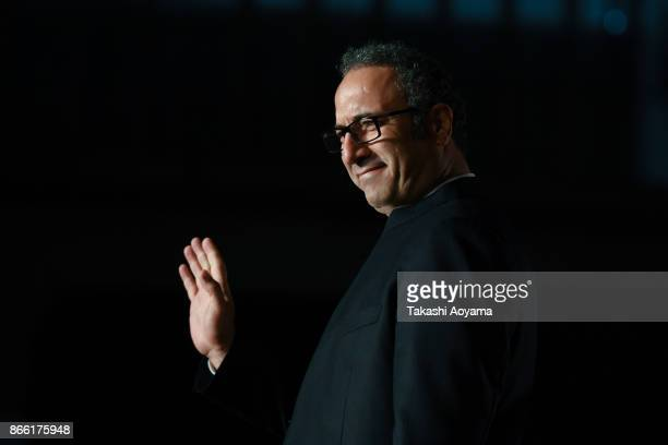 Director Reza Mirkarimi attends the red carpet of the 30th Tokyo International Film Festival at Roppongi Hills on October 25 2017 in Tokyo Japan