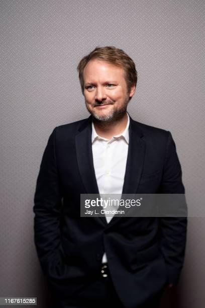 Director Rian Johnson from 'Knives Out' is photographed for Los Angeles Times on September 8 2019 at the Toronto International Film Festival in...
