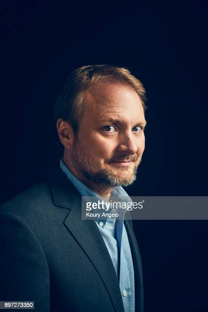 Director Rian Johnson is photographed for People Magazine on July 25 2017 at D23 Expo in Los Angeles California