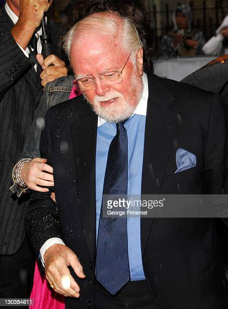"""Director Richard Attenborough attends The 32nd Annual Toronto International Film Festival """"Closing The Ring"""" Premiere at Roy Thomson Hall on..."""