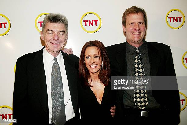 Director Richard Benjamin actress Patricia Heaton and actor Jeff Daniels attend a special screening of TNT's 'The Goodbye Girl' at Cinema 1 January...