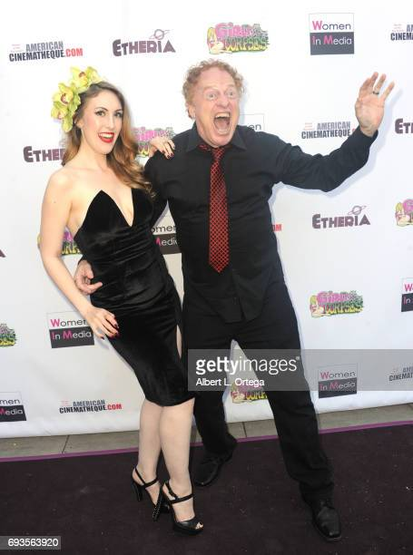 Director Richard Elfman and Anastasia Elfman arrive for Etheria Film Night held at The Egyptian Theatre on June 3 2017 in Los Angeles California