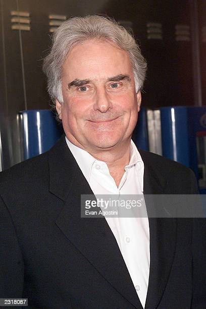 Director Richard Eyre arriving at the world film premiere of Miramax's 'Iris' at the Paris Theatre in New York City 12/2/2001 Photo Evan...