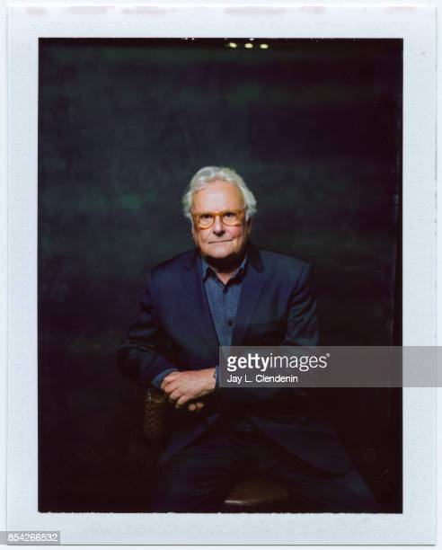 """Director Richard Eyre, from the film """"The Children Act,"""" is photographed on polaroid film at the L.A. Times HQ at the 42nd Toronto International Film..."""
