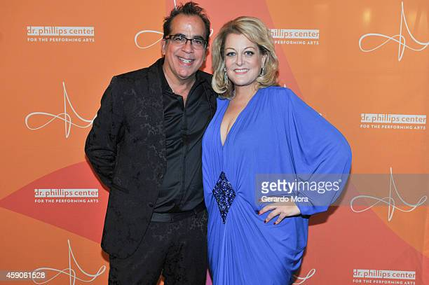 Director Richard JayAlexander and Deborah Voigt attend the opening night of Dr Phillips Center for the Performing Arts Broadway Beyond on November 15...