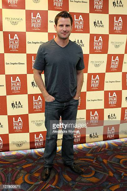Director Richard Kelly attends Coffee Talk: Directors sponsored by the Directors Guild of America, during the 2011 Los Angeles Film Festival at Regal...