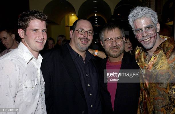 Director Richard Kelly Lions Gate executive Peter Block and Cowriter / Director Eli Roth
