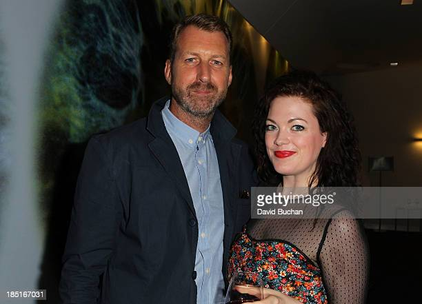 Director Richard Laxton with Actress Jessica Doherty attend the BAFTA Brits to Watch The Screening of Burton and Taylor With Richard Laxton at WME...