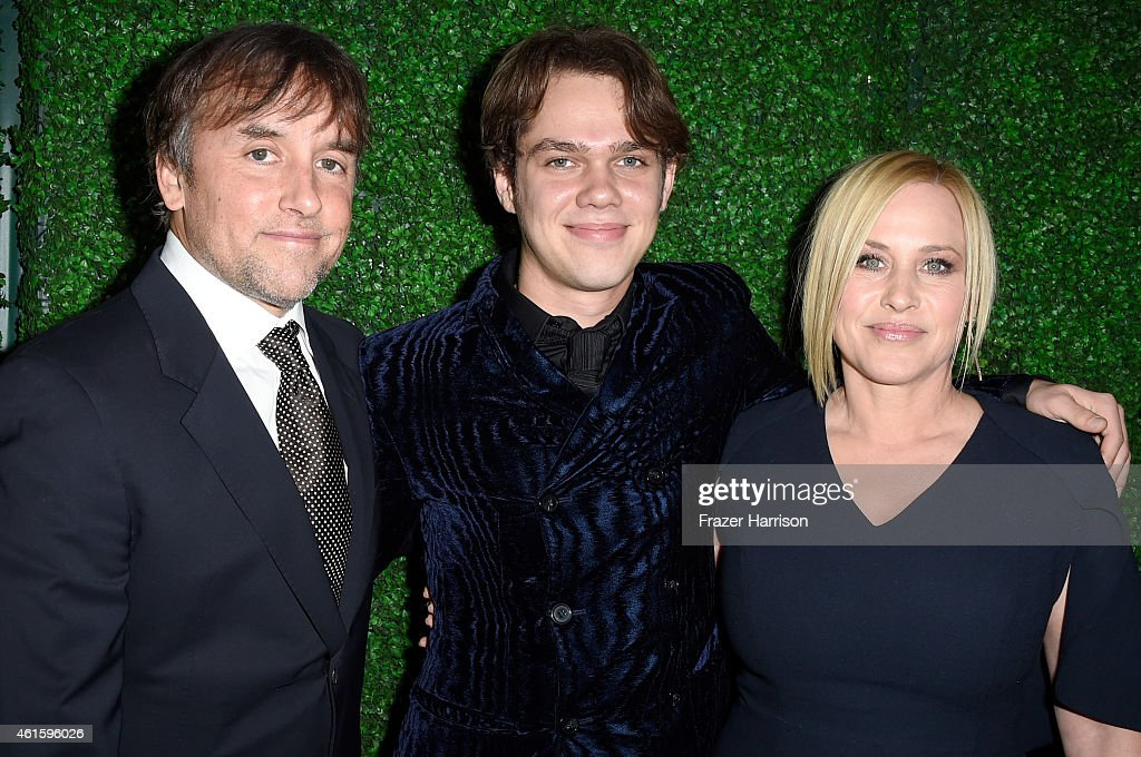Director Richard Linklater, actors Ellar Coltrane and Patricia Arquette attend the 20th annual Critics' Choice Movie Awards at the Hollywood Palladium on January 15, 2015 in Los Angeles, California.