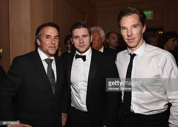 Director Richard Linklater and actors Allen Leech and Benedict Cumberbatch attend the 26th Annual Palm Springs International Film Festival Awards...
