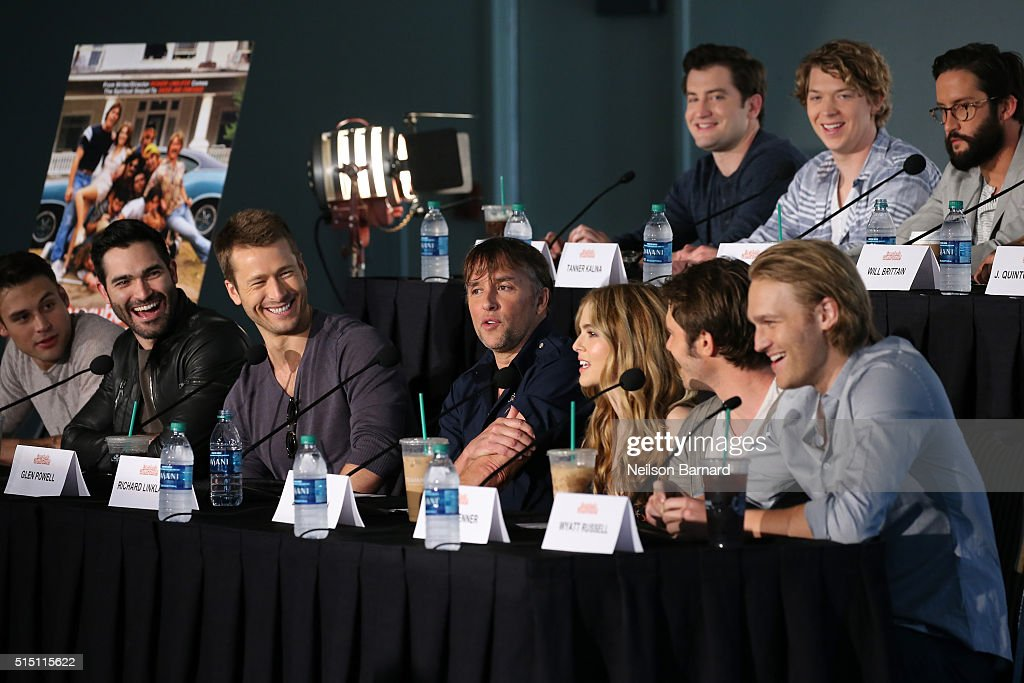 """""""Everybody Wants Some"""" Press Conference - 2016 SXSW Music, Film + Interactive Festival"""