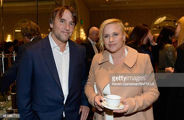 Director Richard Linklater and actress Patricia Arquette attend the BAFTA Los Angeles Tea Party at The Four Seasons Hotel Los Angeles At Beverly...
